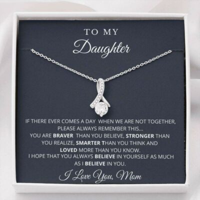 Daughter Necklace, To My Daughter Necklace, Graduation Gift For Daughter From Mom